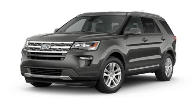 New 2019 Ford Explorer XLT SUV in Jamestown, NY